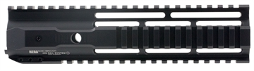Picture of Hera 110502 Irs Ar15 Rifle Aluminum Handguard Black Hard Coat Anodized 9""