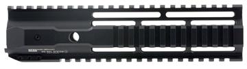 "Picture of Hera 110502 Irs Ar15 Rifle Aluminum Handguard Black Hard Coat Anodized 9"""