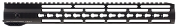 Picture of Hera 110507 Irs Ar15 Rifle Aluminum Handguard With Keymod Black Hard Coat Anodized 15""