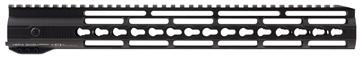"Picture of Hera 110507 Irs Ar15 Rifle Aluminum Handguard With Keymod Black Hard Coat Anodized 15"""