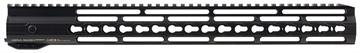 Picture of Hera 110509 Irs Ar15 Rifle Aluminum Handguard With Keymod Black Hard Coat Anodized 16.5""