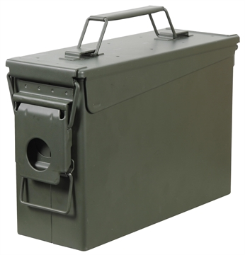 Picture of Heritage Safe 30B Fortress Ammo Can 30 Caliber Polypropylene Green