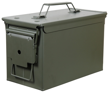 Picture of Heritage Safe 50B Fortress Ammo Can 50 Caliber Polypropylene Green