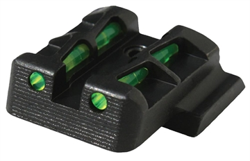 Picture of Hiviz  Litewave S&W M&P Shield 9Mm/40S&W Fiber Optic Green Black