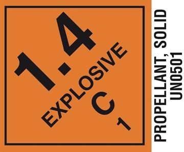 Picture of Hodgdon  Label14cp Propellant Labels 1.4C 1000
