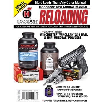 Picture of Hodgdon 2018 Annual Reloading Manual