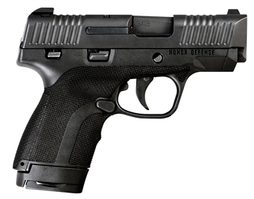 "Picture of Honor Defense Hg9sc Honor Guard Sub-Compact Double 9Mm +P 3.2"" 7+1/8+1 Black Polymer Grip Black"