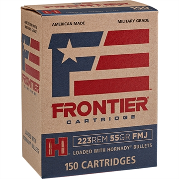 Picture of Frontier   223Rem 55Gr Fmj 150/4
