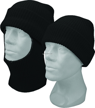 Picture of Hot Shot Acrylic Knit Eski Cap W/Pull Down Face Mask