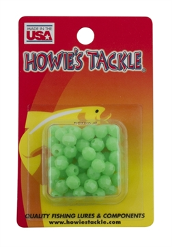 Picture of Howie 6Mm Facetted Beads; Green Glow, 50Pk