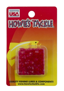 Picture of Howie 6Mm Facetted Beads; Raspberry, 50Pk