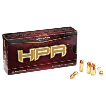 Picture of Hpr Ammunition 10Mm 165Gr Hbfp Hyperclean 50/20