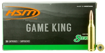 Picture of Hsm 2439N Game King 243 Winchester 85 GR Hpbt 20 Bx/ 25 CS