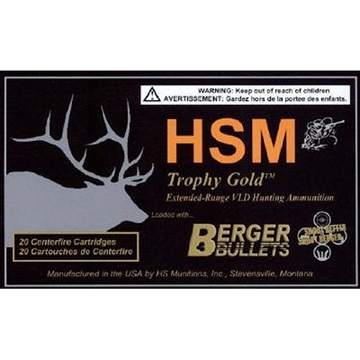 Picture of The Hunting Shack- Inc. 300Wsm 168Gr Berger Vld TG