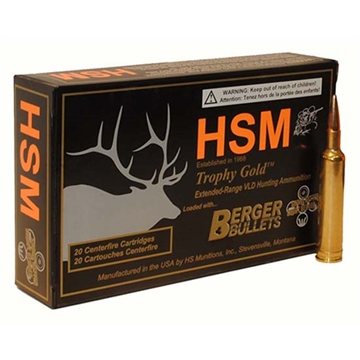Picture of The Hunting Shack- Inc. 308 168Gr Berger Vld TG
