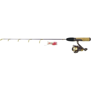Picture of HT 25 Polar Lite Jig Stik Combo - Medium - Graphite W/ Ds-102G 2B Iar