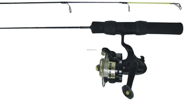 Picture of HT 28 Iceman Series Med Action Combo W/ Opt-101 Reel 1/Bb W/ Line
