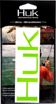 """Picture of Huk Decal 6"""" Bright Green"""