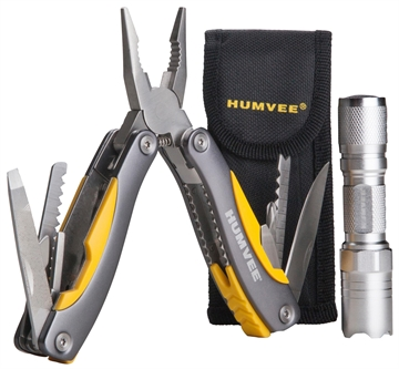 Picture of Humvee Accessories Hmvcp10 Multi Pliers Led Combo Metal Multi Pliers Led Combo Multi-Purpose Tool