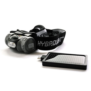 Picture of Hybrid Light Solar Head Light 75Lum Blk