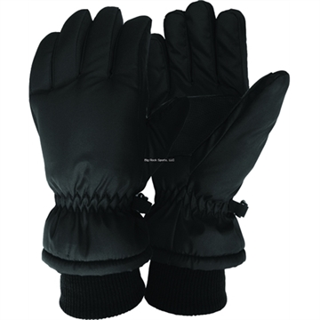 Picture of Jacob Ash Boys Tason Ski Glove 40Gr Thinsulate Brushed Tricot Waterproof Insert Asst Colors