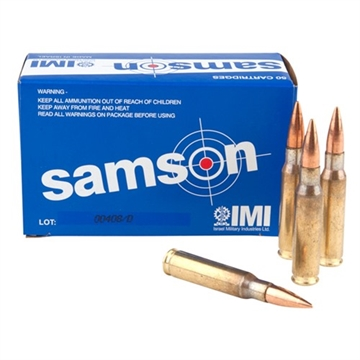 Picture of Imi Samson Ammo 7.62 Nato 150Gr Fmj 50/Bx