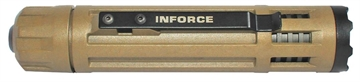 Picture of Inforce 6Vx-B-W 6Vx White 40/300 Lumens Cr123a Lithium (2) Tan