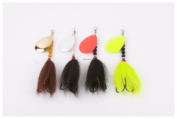 Picture of Inhaler 6In Musky Bucktails, Assorted Colors