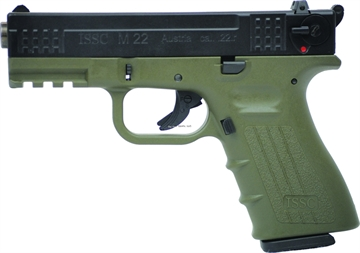 Picture of Issc   111014  .22Lr M22 Pistol Grn/Blk 10Rd State Laws Apply