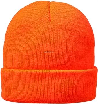 Picture of Hot Shot 4-Ply Knit Cuff Cap, Blaze Orange