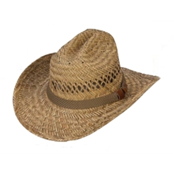 Picture of Jafari Hats Cattleman Straw Hat Wire Brm