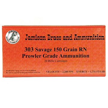 Picture of Jamison 303Sav 150Gr Rnfp 20/10
