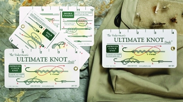 """Picture of JE Sherry Fold-Out Ruler 12"""" Ten Best Fishing Knots"""
