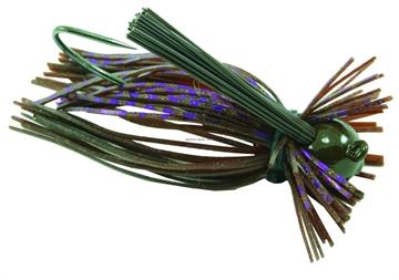 Picture of Jewel Eakins Jig, 5/16 Oz, Brown/Purple Flash, 2/Pack