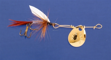 Picture of Joes Short Striker Classic In-Line Spinner Fly, SZ 10, Adams
