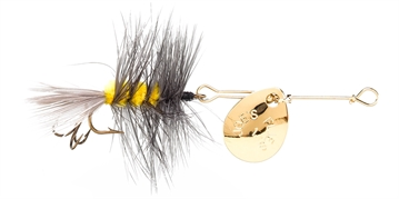 Picture of Joes Short Striker Classic In-Line Spinner Fly, SZ 10, Gray Ghost