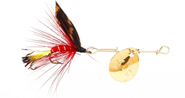 Picture of Joes Short Striker Classic In-Line Spinner Fly, SZ 10, Light Brookie