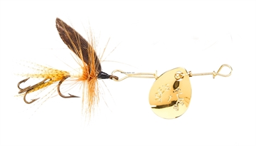 Picture of Joes Short Striker Classic In-Line Spinner Fly, SZ 10, Light Cahill