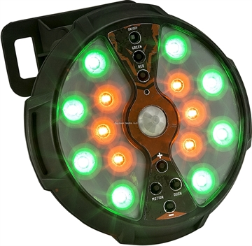Picture of Johnny Stewart Feeder/Area Light W/Remote, Red/Green, (4) AA Batt (Not Included)
