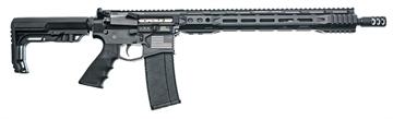 "Picture of Juggernaut Jtr9mm16acah Jt-15 *Ca Compliant* Semi-Automatic 9Mm Luger 16"" 10+1 6-Position Mft Minimalist Black Stk Black Cerakote"