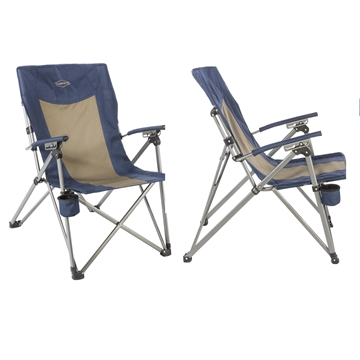 Picture of Kamp-Rite 3 Position Hard/Arm Reclining Chair W/Cup Holder