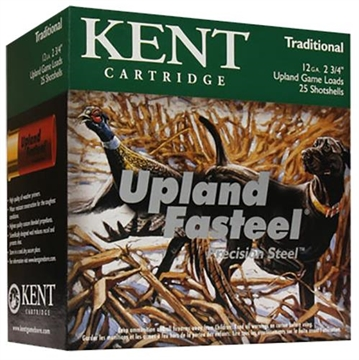 Picture of Kent Ammo 12 Gauge 2 3/4In 1Oz. #6 Upland Faststeel (25 Rounds PE