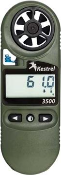 Picture of Kestrel Ballistics 3500Nv Weather Meter Digital Psychrometer OD Green