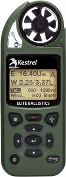 Picture of Kestrel Ballistics 5700 Elite W/Applied Ballistics Olive Drab