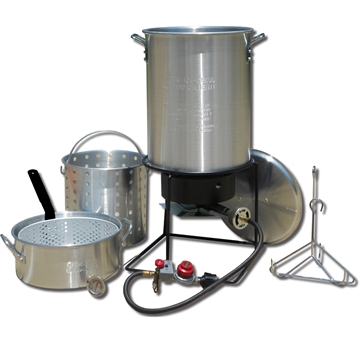 Picture of King Kooker #1265Bf3- Frying And Boiling Package W/Two Pots