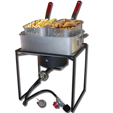 Picture of King Kooker #1618-16In Rectangular Cooker With Pan Package