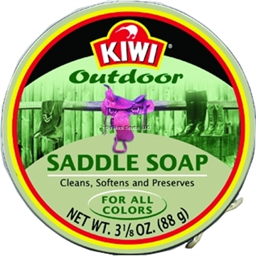 Picture of Kiwi Saddle Soap 3-1/8Oz Leather Cleaner