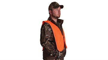 Picture of Knight & Hale & Hale Safety Vest Blaze Orange Fold Away!
