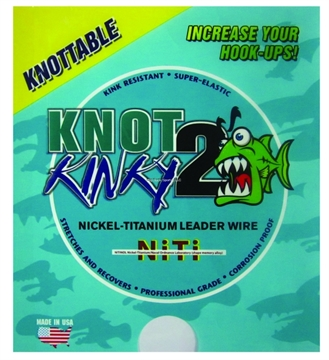 Picture of Knot2kinky Leader Wire 35Lb 15Ft