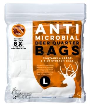 Picture of Koola Buck Anti Microbial Game Bag, Deer Quarter Bags, Large, 4 PK